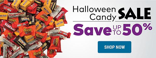 Halloween Candy Sale