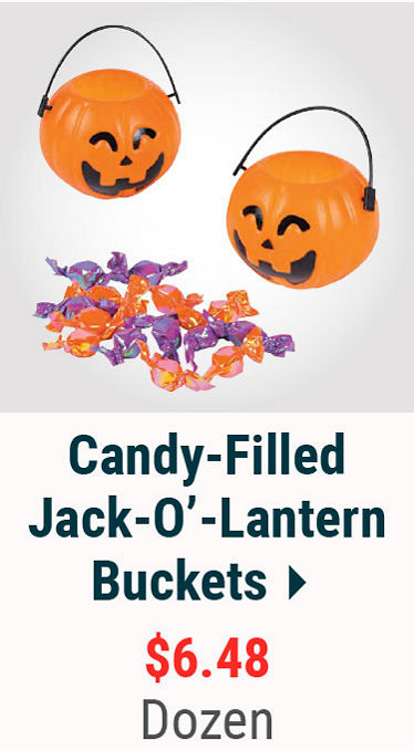 Candy Filled Buckets