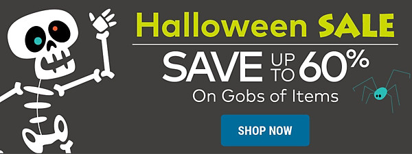 Halloween Sale - Save up to 60%