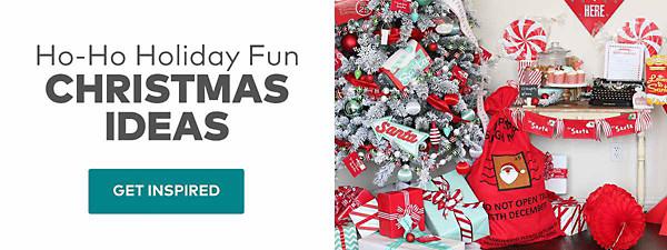 Ho-Ho Holiday Fun Christmas Ideas
