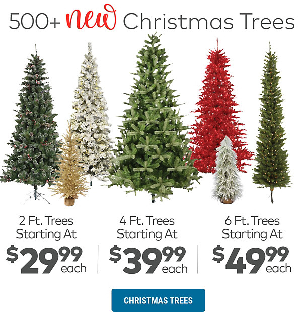 500+ New Christmas Trees!