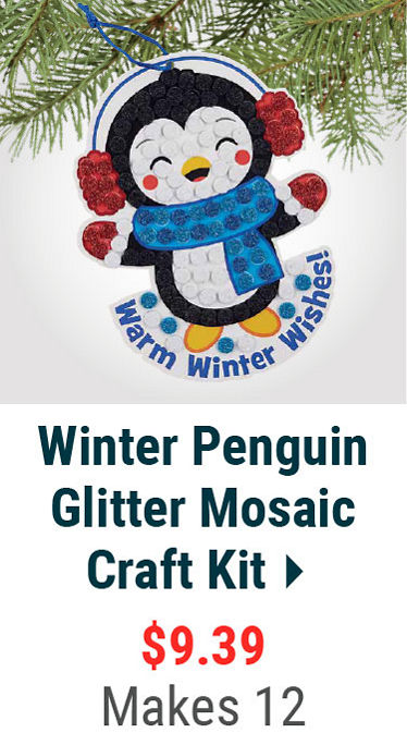 Winter Penguin Craft Kit