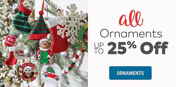 Ornaments Sale