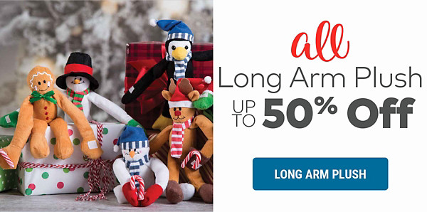Long Arm Plush up to 50% off
