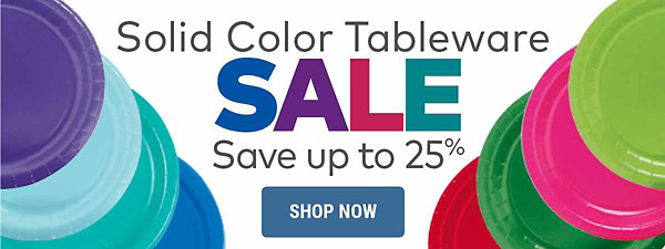 Solid Color Tableware Sale - Save up to 25%