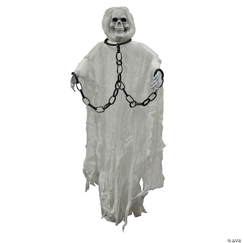 Hanging Skull Face Reaper Halloween Decoration