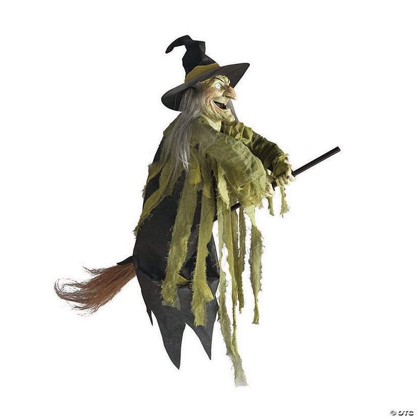 Flying Witch Halloween Decoration Oriental Trading