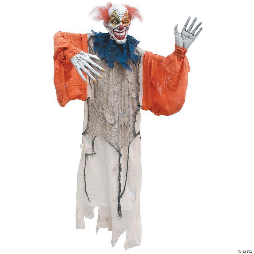 Creepy Clown Halloween Decorations.Hanging Creepy Clown Halloween Decor