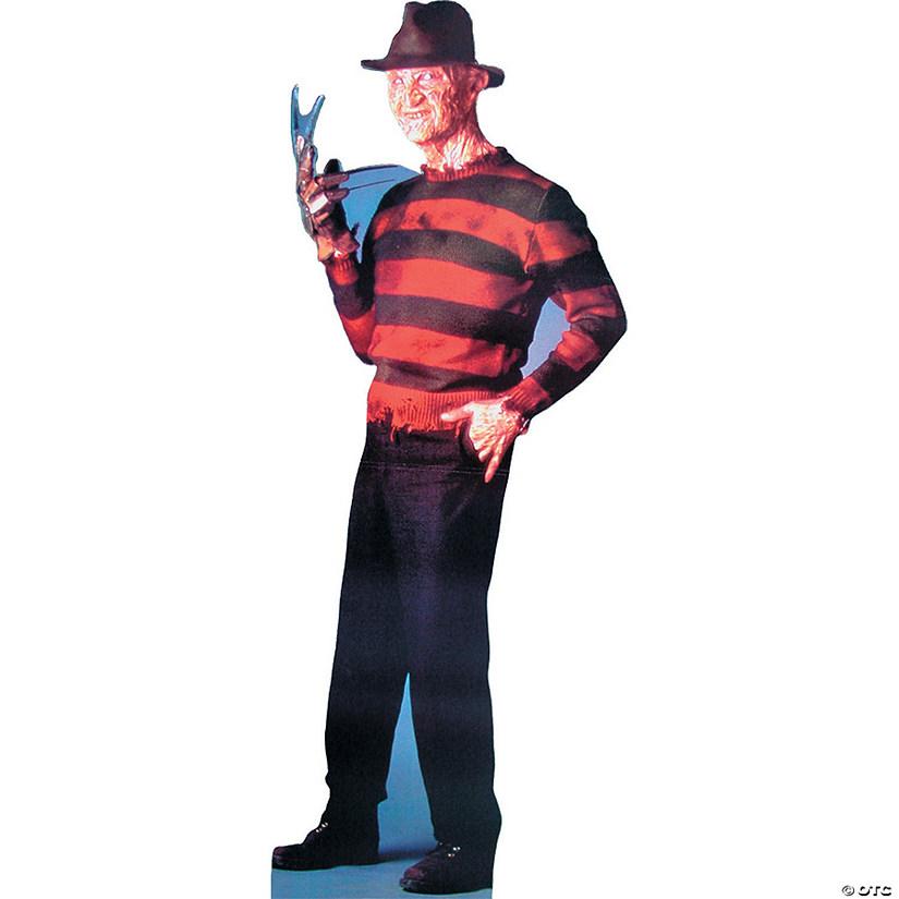 Bright Freddy Krueger Cardboard Stand-Up