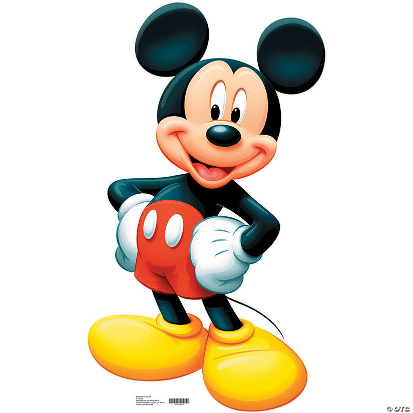 Mickey Mouse Cardboard Stand-Up