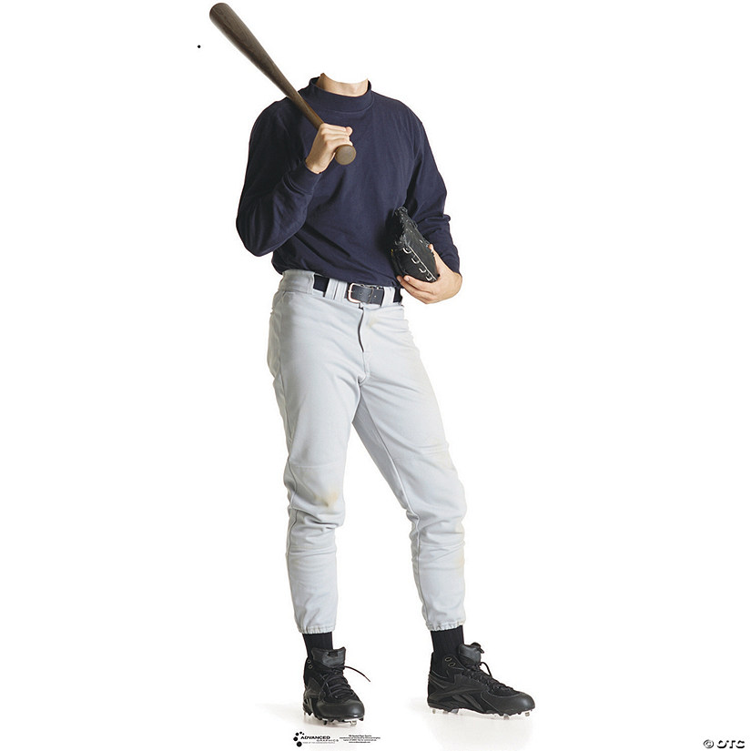 Baseball Player Cardboard Stand-In Stand-Up - Discontinued