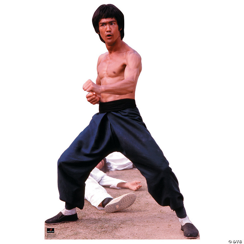 Bruce Lee - Fight Stance Cardboard Stand-Up | Oriental Trading