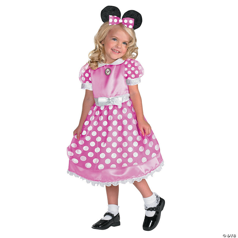 Girls Pink Mickey Mouse Clubhouse Minnie Mouse Costume