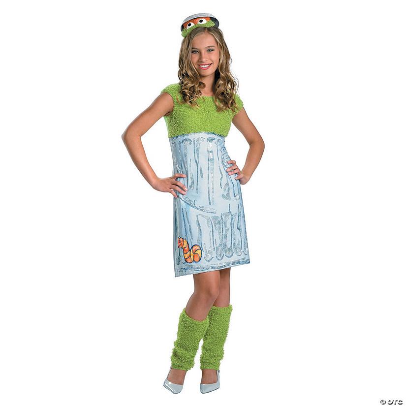 Girl S Sesame Street Oscar The Grouch Costume