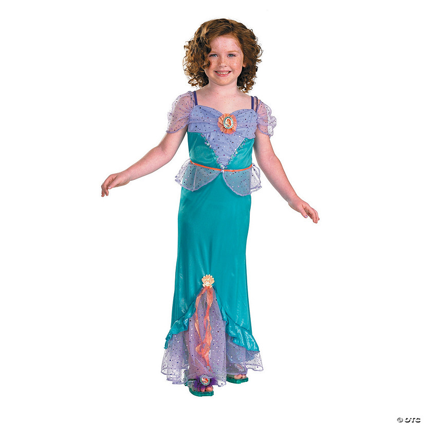 NEW Disney Ariel The Little Mermaid Toddler Dress Girl/'s Halloween Costume 2T