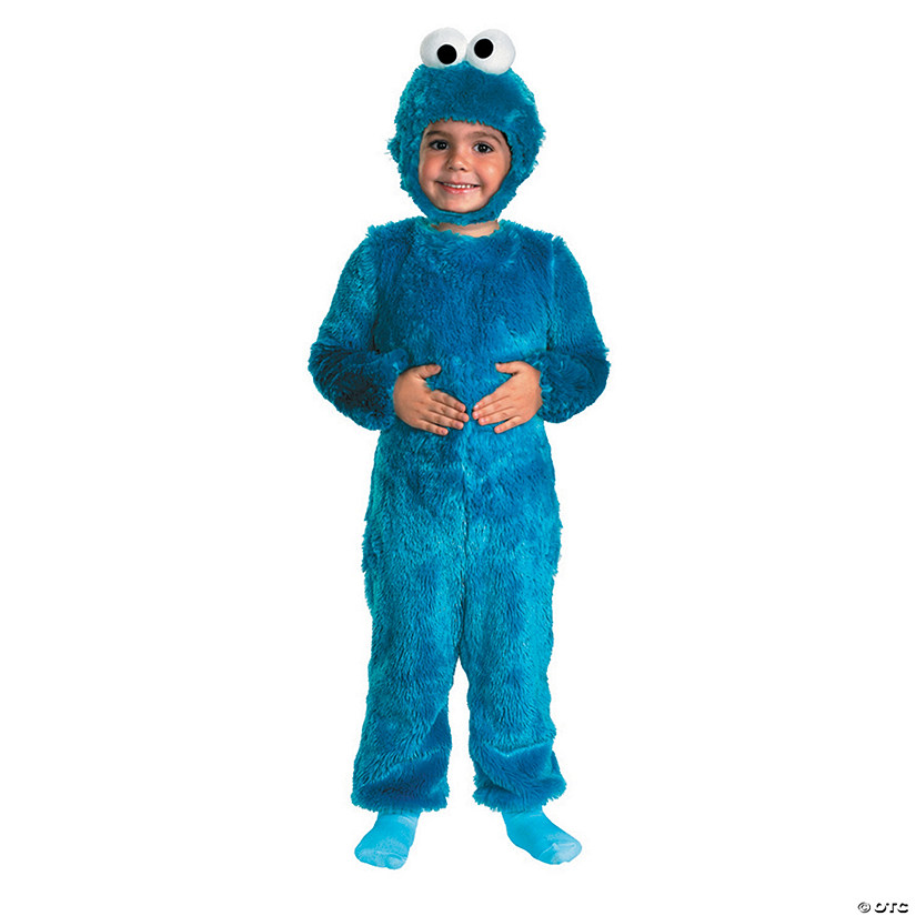 Kid S Sesame Street Cookie Monster Costume