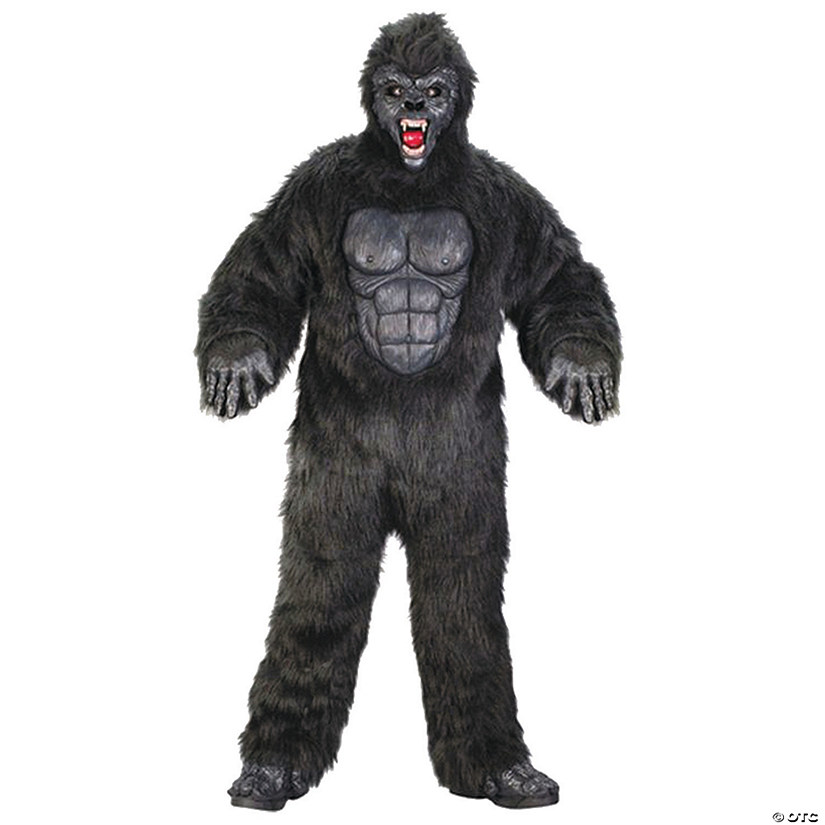 mens plus size gorilla suit costume
