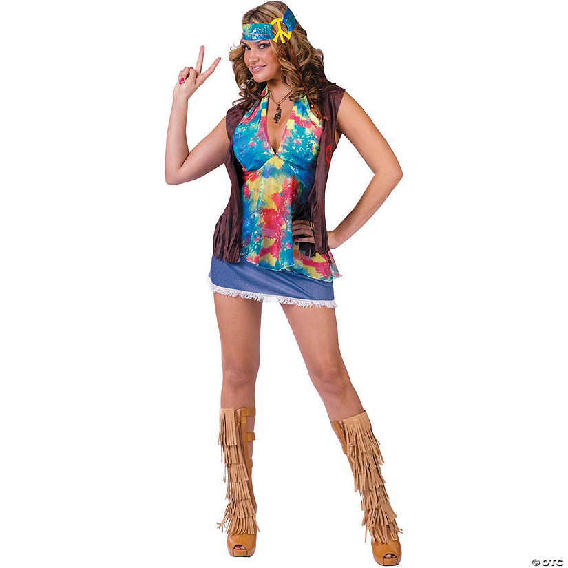 5d29fa7a30e Women s Hippie Summer of Love Costume