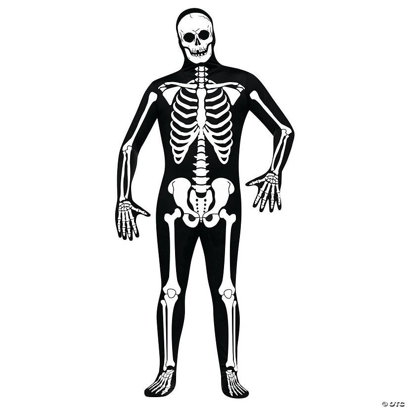 Men\'s Skeleton Skin Suit Costume