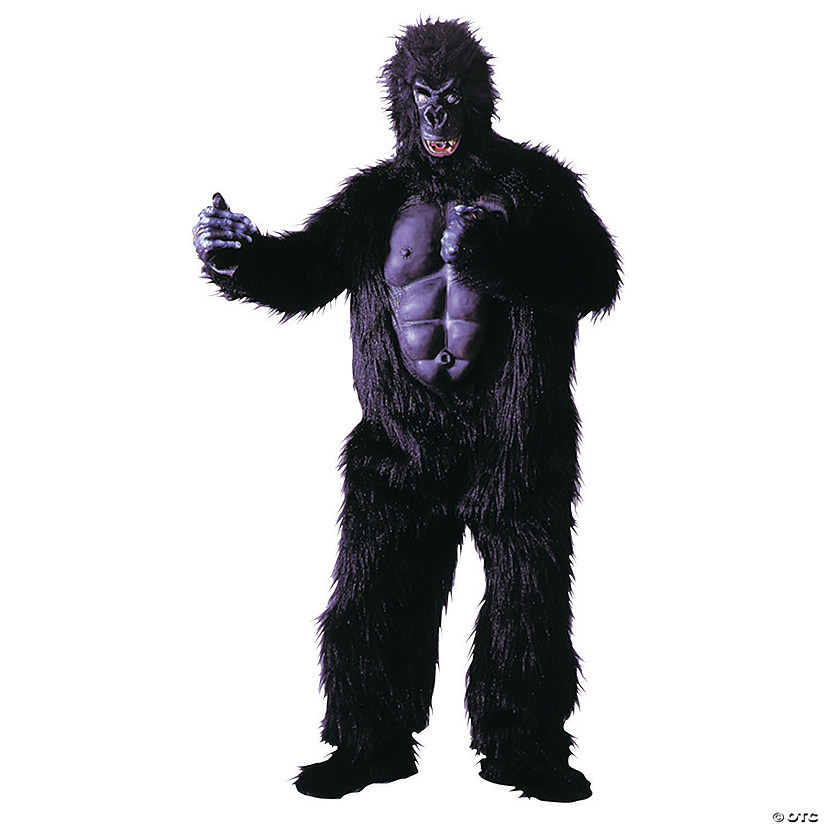 mens with chest gorilla costume