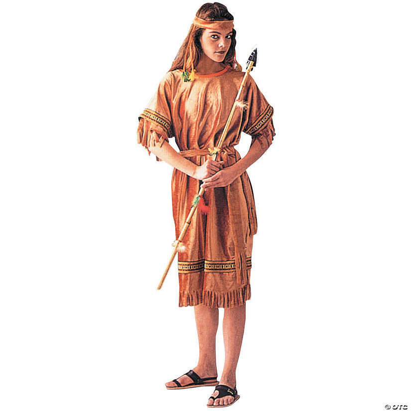 Native american maiden costume can
