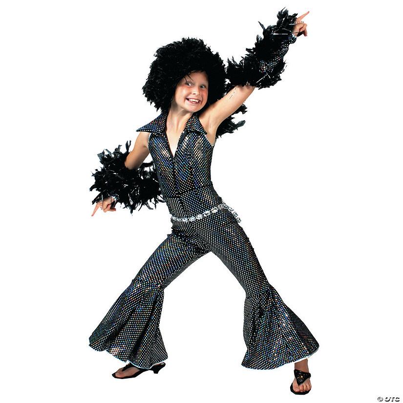 girl's boogie disco costume  oriental trading