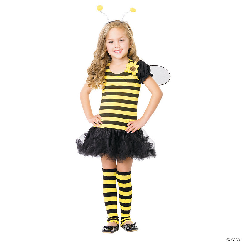 Girls Bee Costume