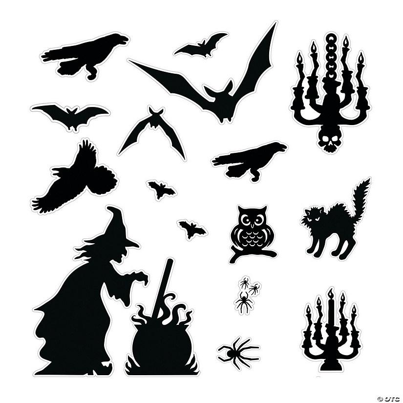 halloween silhouette d u00e9cor kit