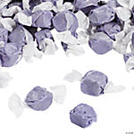 Purple Salt Water Taffy Candy