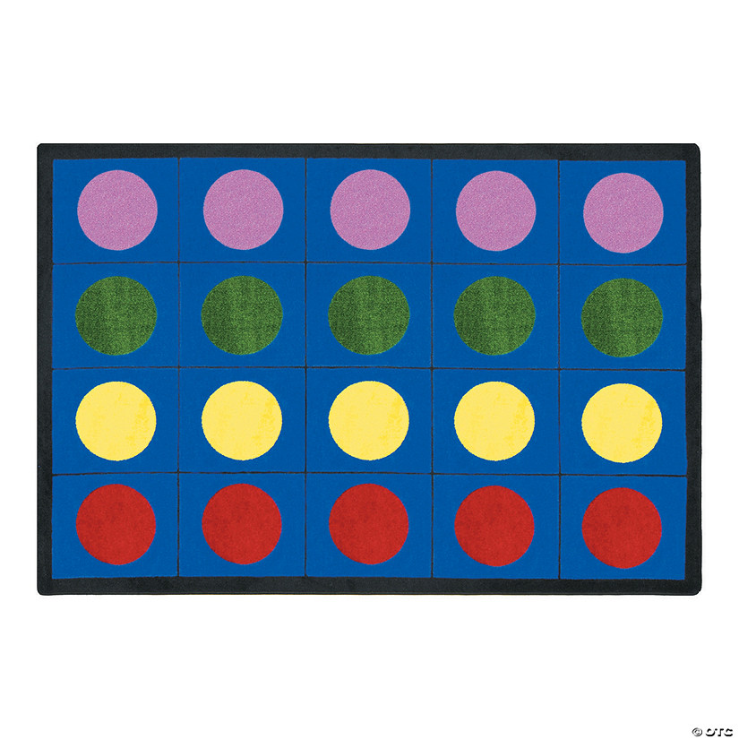 Fantastic Lots Of Dots® Classroom Rug WT88