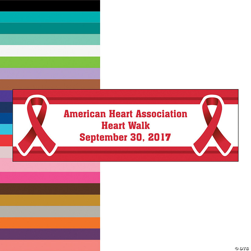 2dc2b3c0728a Personalized Awareness Ribbon Banners