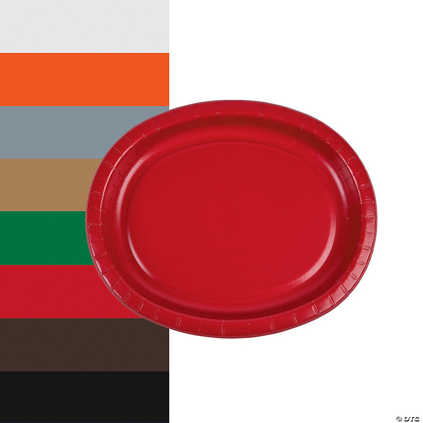Groovy Oval Paper Dinner Plates Download Free Architecture Designs Grimeyleaguecom