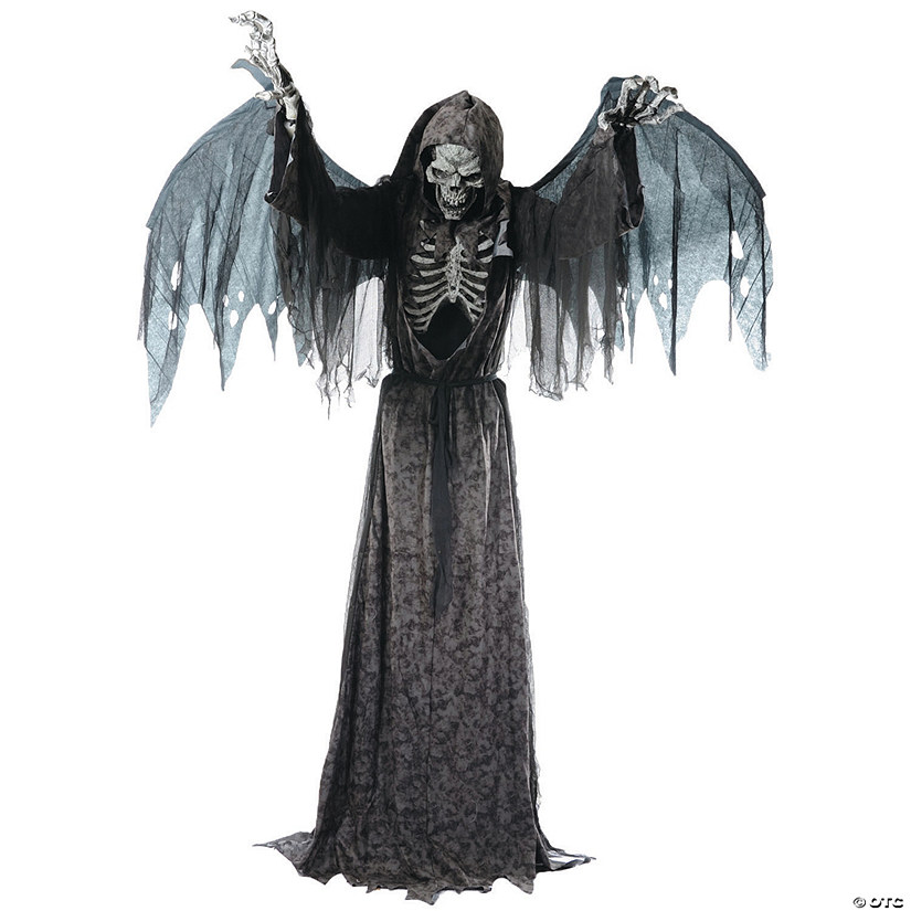 Animated Angel of Death Life-Size Halloween Decoration