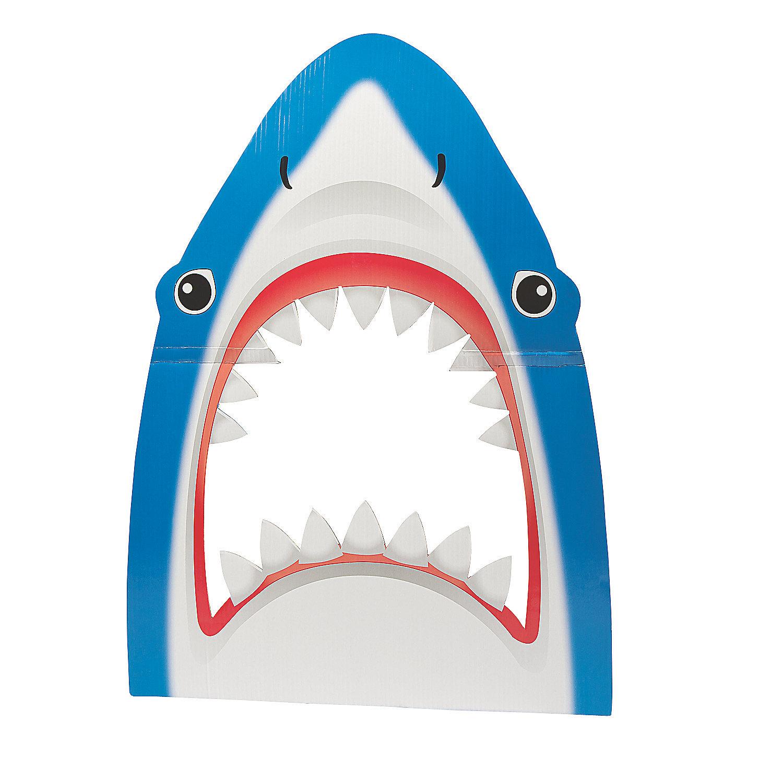 diy christmas photo prop ideas - Shark Prop