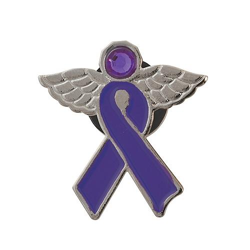 70ab5a62cae Purple Ribbon Merchandise & Awareness Products | Oriental Trading