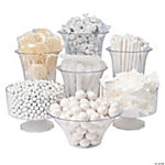 White Candy Buffet Assortment