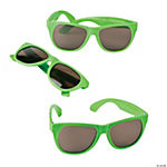 Lime Green Nomad Sunglasses - 12 Pc.