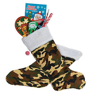 personalized camo christmas stocking - Camo Christmas Stocking
