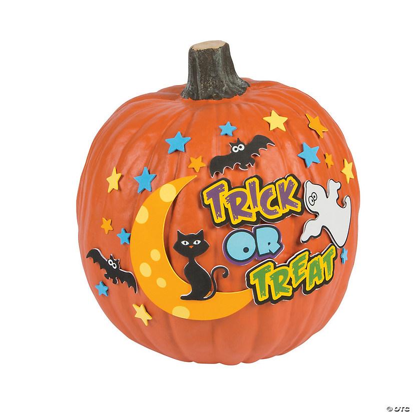 Trick or Treat Pumpkin Decorating Craft Kit