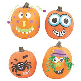 Pumpkin Decorating Kits & Stickers