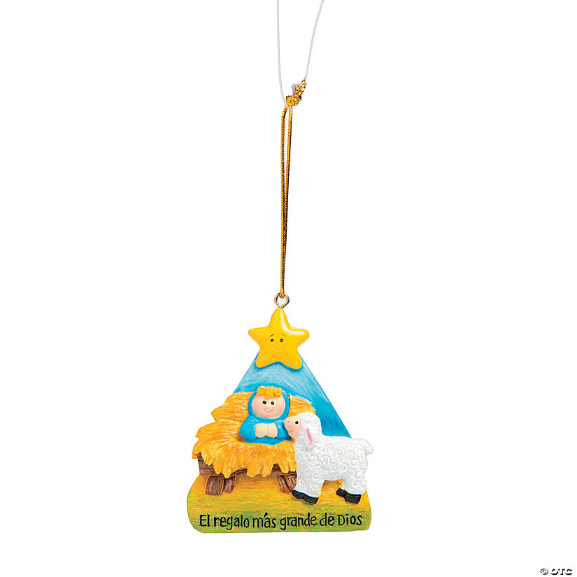 Spanish Believe Christmas Ornaments - Discontinued