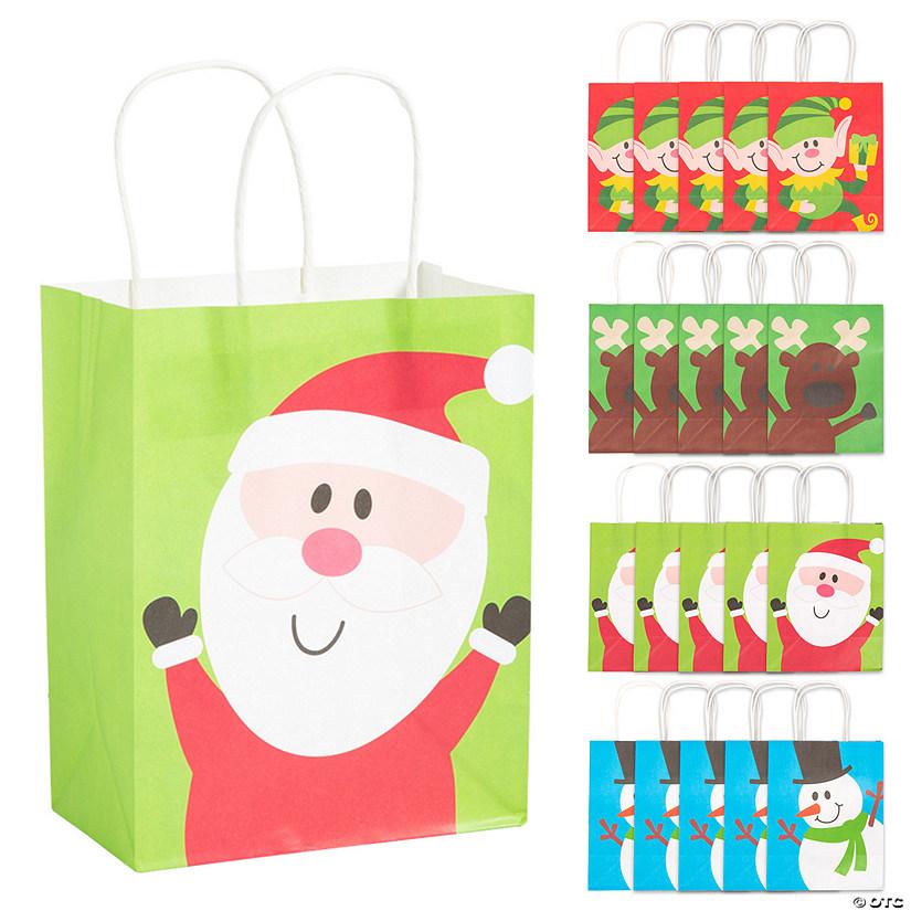Elf Christmas Gift Bags.Christmas Gift Bag Assortment