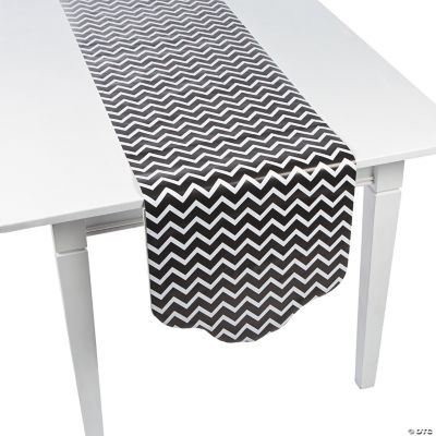 This Review Is Fromblack Chevron Polka Dot Table Runner