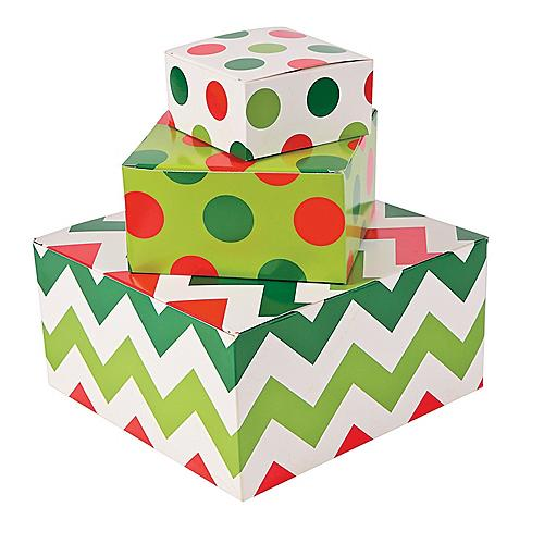Christmas Gift Bags, Gift Boxes, Wrap & Ribbon   Oriental Trading Company