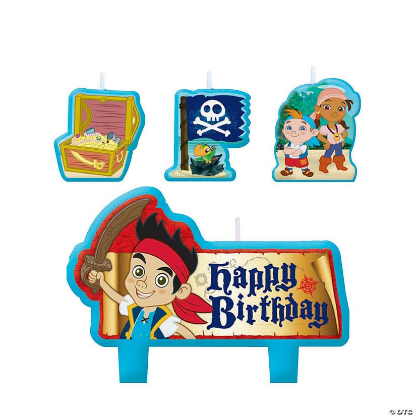 Jake The Neverland Pirates Birthday Candles