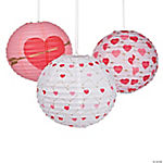 Valentine Arrow Hanging Paper Lanterns