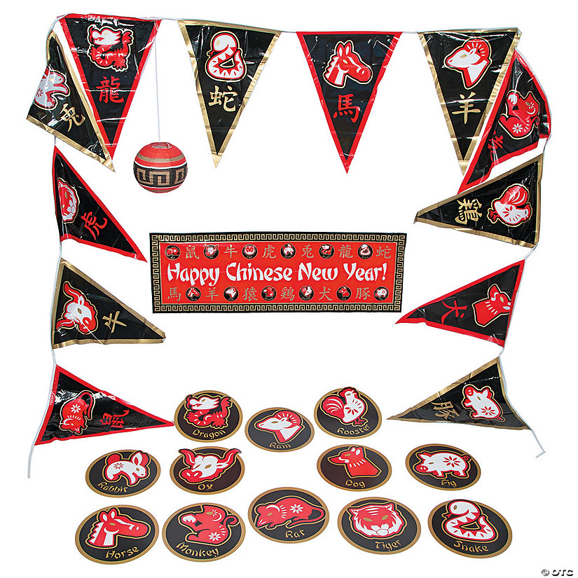 Chinese New Year Decorating Kit | Oriental Trading
