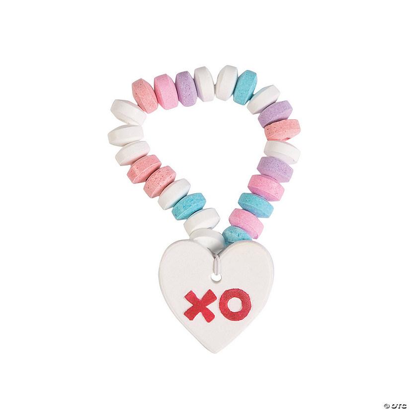 Valentine Printed Hard Candy Bracelets