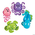 Sea Creature Plastic Easter Eggs - 12 Pc.