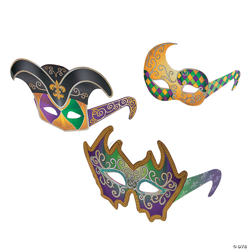 c3c6aff83a Mardi Gras Mask Glasses